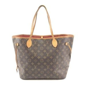 Neverfull Neo Mm Tote Canvas Shoulder Bag